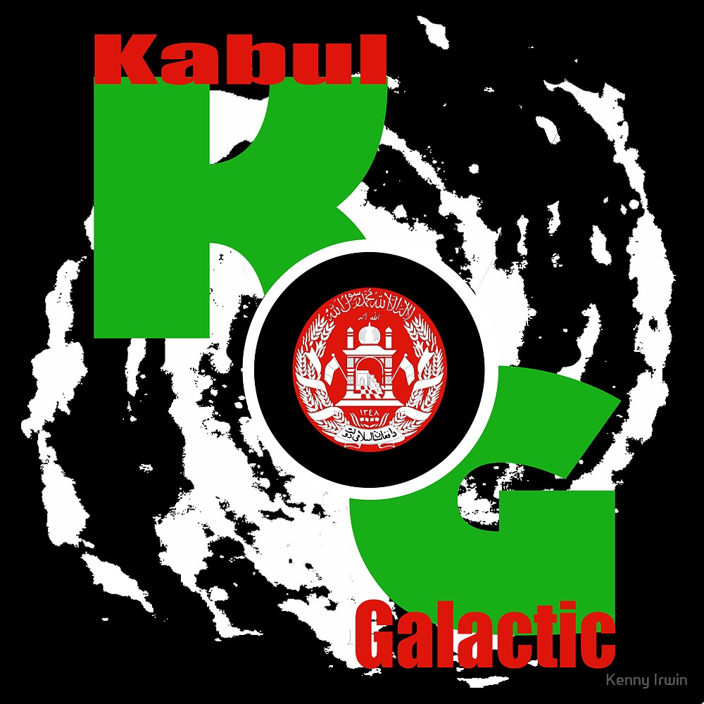 The Official Logo of Kabul Galactic Command by Kenny Irwin