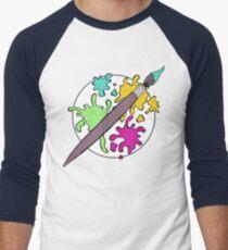 Colourful Paint Splatter Pattern T-Shirt