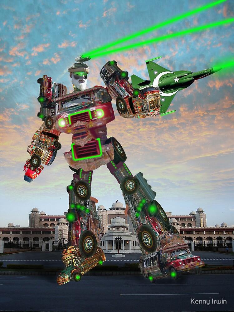 The Karachi Kickbot 50000 Is Ready For ZabberDast Action! by Kenny Irwin