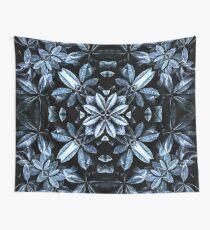 Metallic Leaves Mandala Wall Tapestry