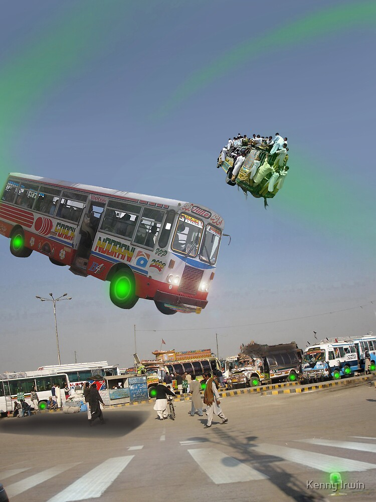 Rawalpindi Spacebus Port by Kenny Irwin