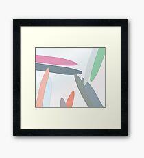 NYLONS Framed Print