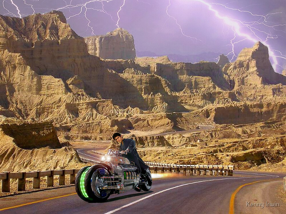 Zabber Dast Pakistani Hyper Drive Cycle V-400 by Kenny Irwin