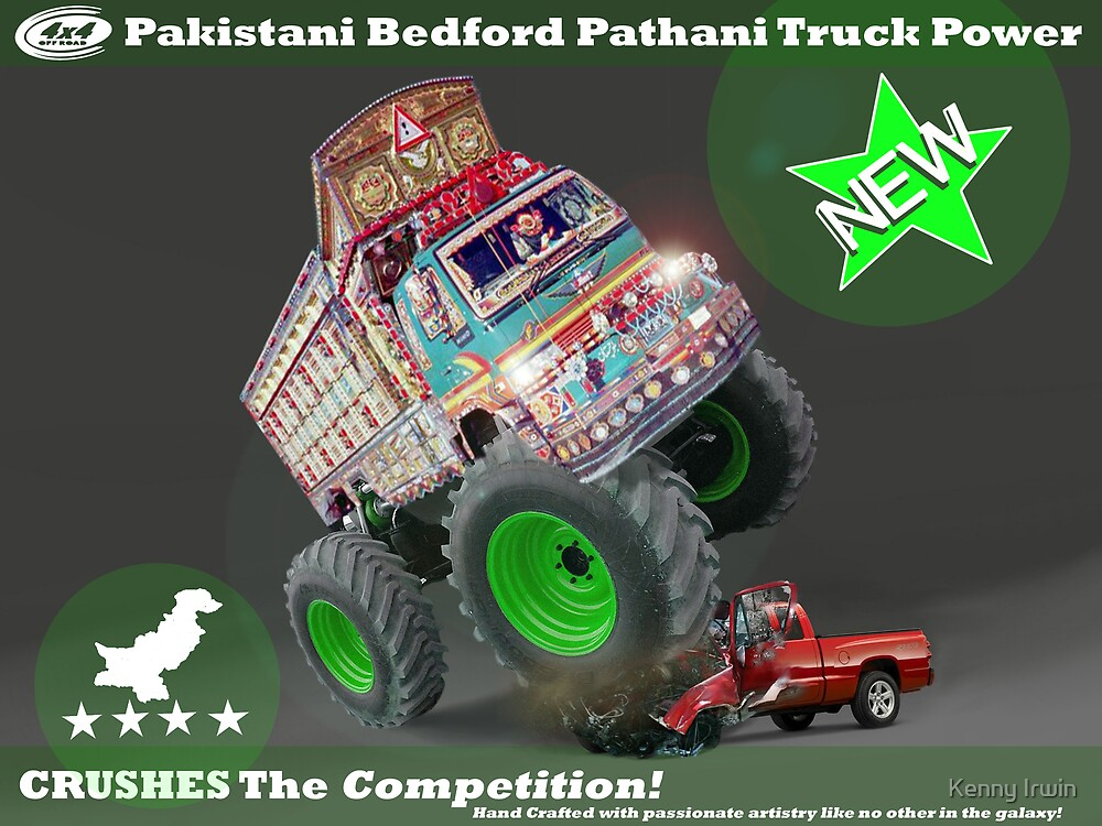 Pakistan's Newest Line-up of Rugged Hand Crafted Utility Vehicles by Kenny Irwin