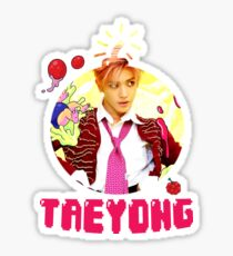 NCT 127 Taeyong Cherry Bomb Sticker
