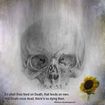 life and death - asciiart by issabild