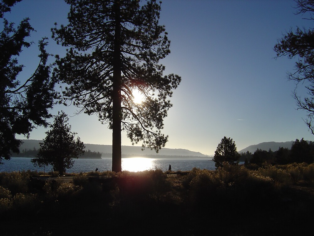 Big Bear Lake California by Jerry Stewart