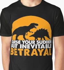 Curse Your Sudden But Inevitable Betrayal : Inspired By Firefly Graphic T-Shirt