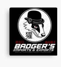 Badger's Imports And Exports : Inspired by Firefly Canvas Print