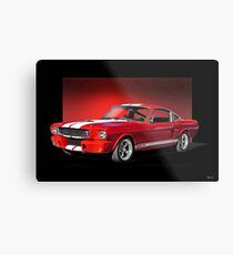 1966 Shelby Mustang GT350  Metal Print