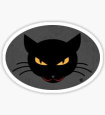 Evil Kitty Sticker