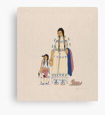 Wah-Pah-Nah-Yah: Mowglis' Collection Canvas Print