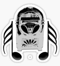 Juke Box Player Sticker