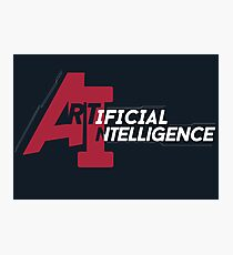 AI - artificial intelligence Photographic Print