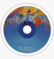 Chris Brown Album Disc Sticker