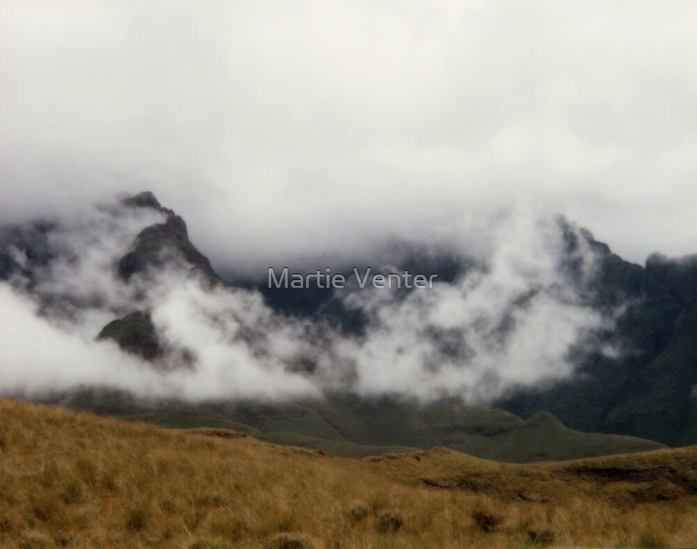 Mist Over the Mountains II by Martie Venter