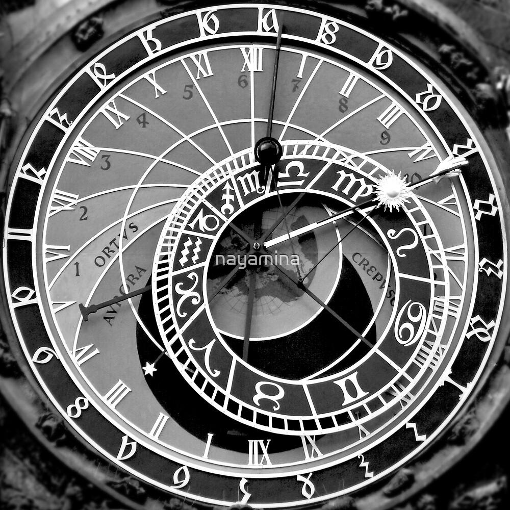 Prague Astronomical Clock by nayamina