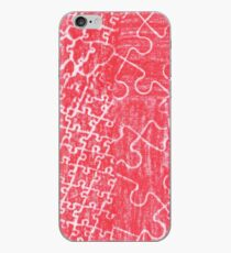 Life Is A Puzzle RED iPhone Case