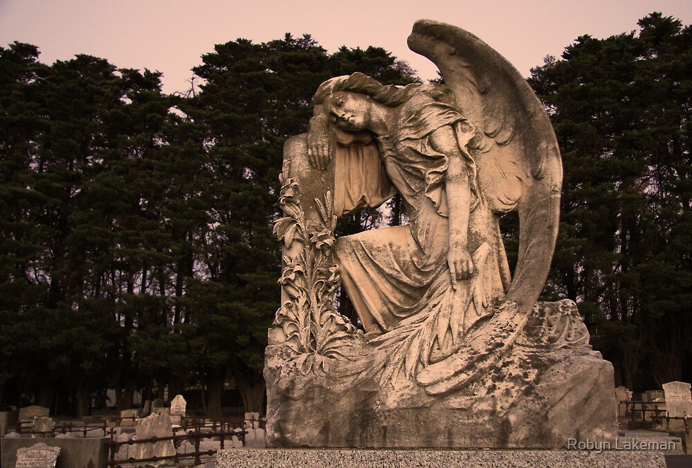 Angel Resting  by Robyn Lakeman