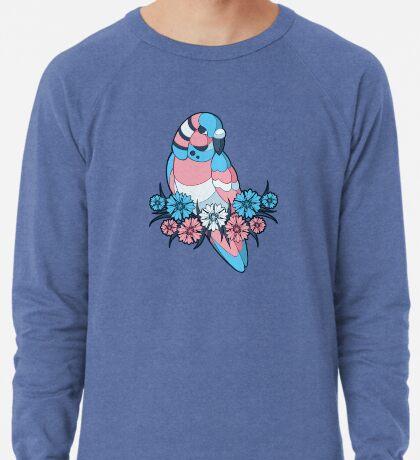 Pride Birds - Transgender Lightweight Sweatshirt