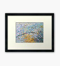 Maps - Original Abstract Design Framed Print