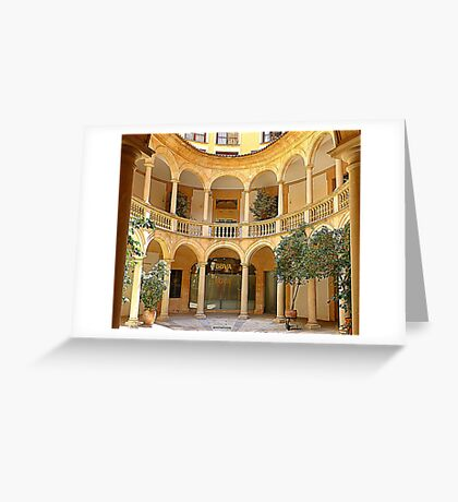 The Beauty Of Palma.............................Mallorca Greeting Card