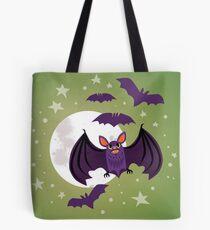 Flappy Batty Tote Bag