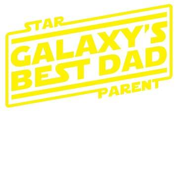 Galaxy's Best Dad by petestyles