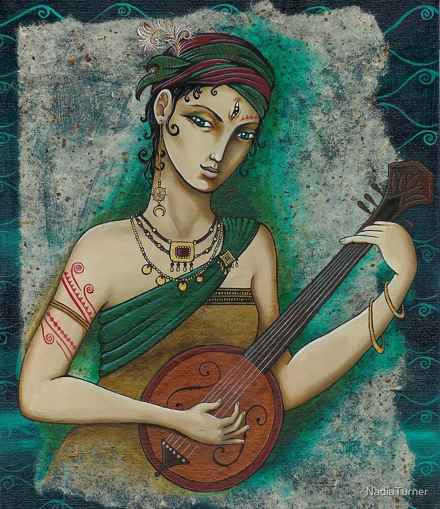 A minstrel by NadiaTurner