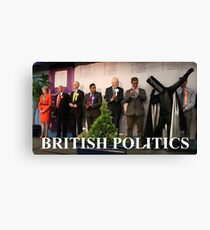 British Politics Canvas Print