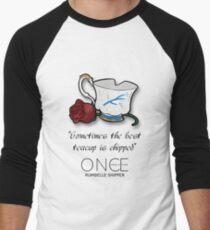 OUAT: Rumbelle  Men's Baseball ¾ T-Shirt