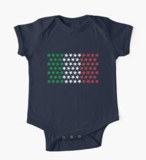 Inspired by Italian Flag. Stars Kids Clothes