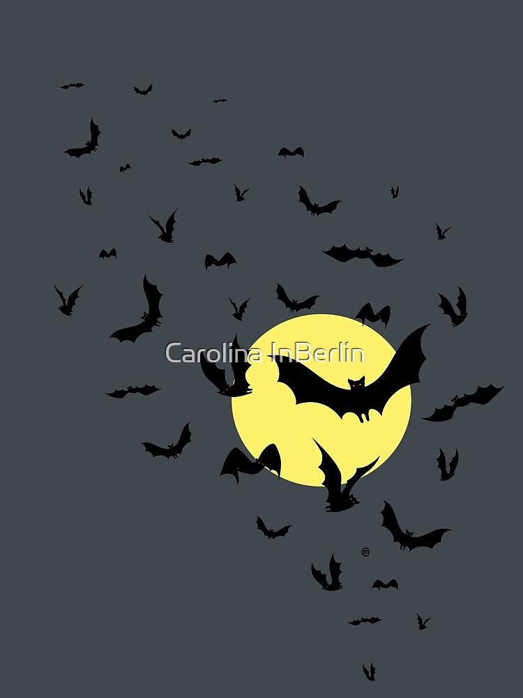 Bat Swarm by CarolinaMatthes