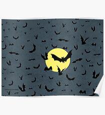 Bat Swarm Poster
