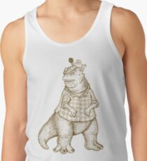 NOT THE MAMA - lines Men's Tank Top