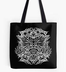 Tattoo tribal owl Tote Bag