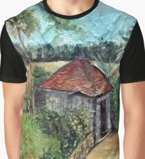 Shed on the Marsh Graphic T-Shirt