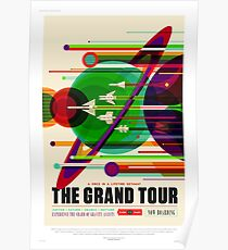 Póster The Grand Tour - Cartel de viaje NASA / JPL