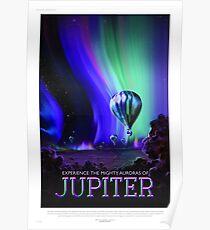 Póster Júpiter - Cartel de viaje NASA / JPL