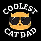 Coolest Cat Dad by cartoonbeing