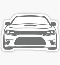 simple charger filled Sticker