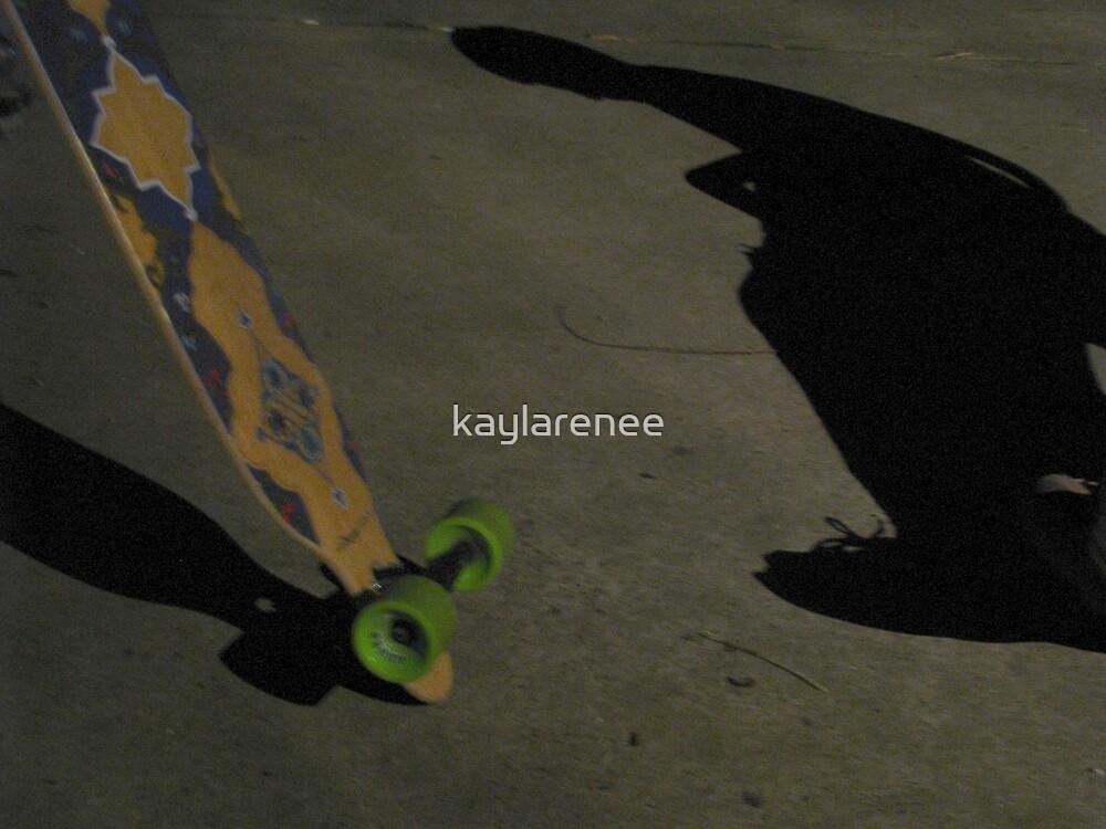Skateboarding Sorrows by kaylarenee