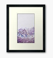 Berge Gerahmtes Wandbild