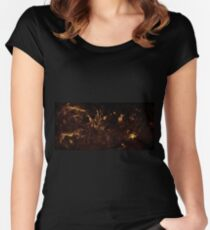 The Milky Way by Hubble Women's Fitted Scoop T-Shirt