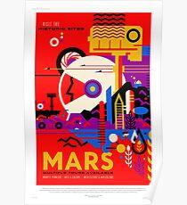 Mars - NASA / JPL Reiseplakat Poster