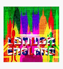 LONDON TOWN Photographic Print