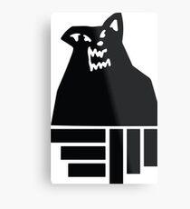 Russ Diemon Wolf Metal Print