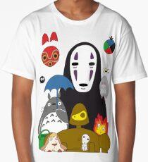 Ghibli mix Long T-Shirt