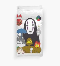 Ghibli mix Duvet Cover
