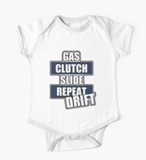 Gas clutch slide drift One Piece - Short Sleeve
